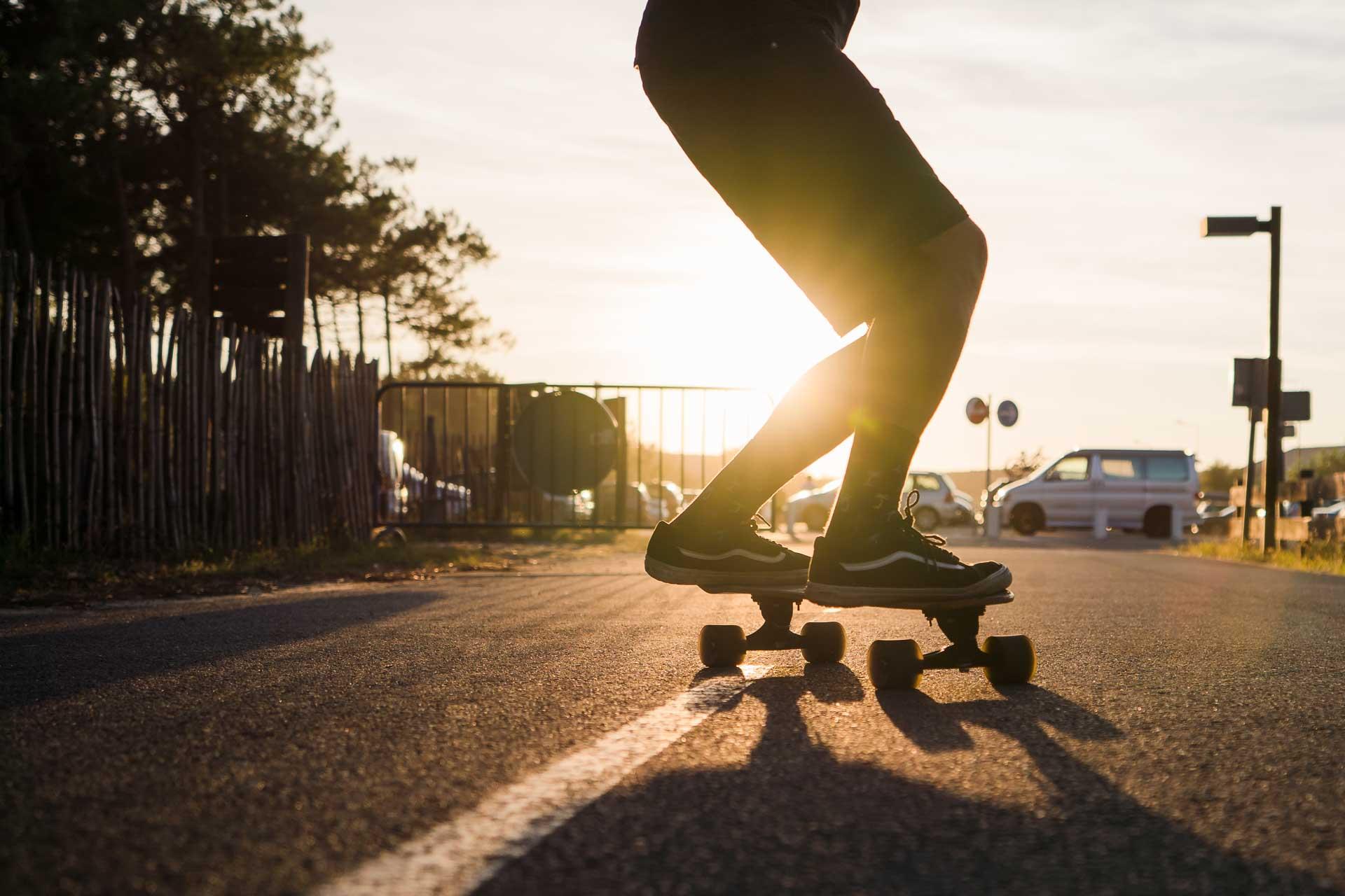Skateboard Fotoshooting