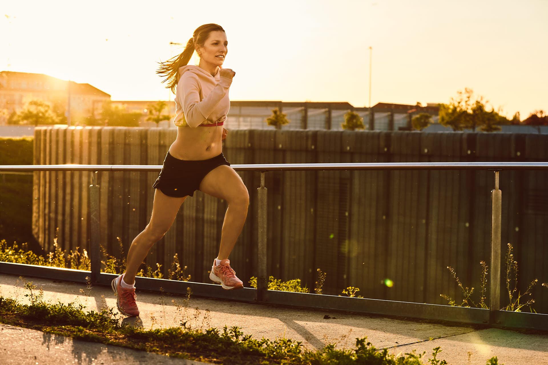 Run! Sportfotos vom Laufen mit Rike in Berlin